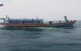 Cứu 7 ngư dân Quảng Bình trên tàu cá hỏng máy