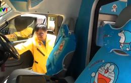 Xe cứu thương Doraemon tại Thái Lan