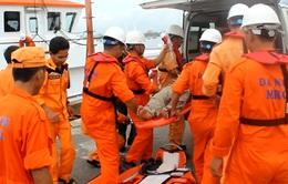 Cứu nạn thuyền viên bị đau ruột thừa trên biển