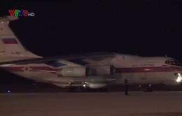 Chuyến bay mang 40 tấn hàng cứu trợ của Nga đã đáp sân bay Cam Ranh