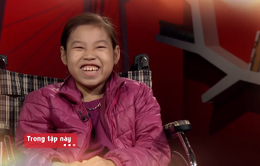 Niềm lạc quan của cô bé vừa bị liệt vừa bị suy thận mãn tính