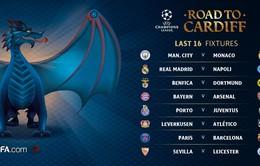 Lịch tường thuật trực tiếp bóng đá trên VTVcab từ 11/2-17/2: Champions League trở lại!