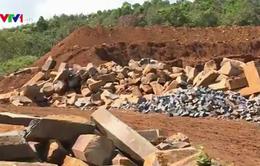 Khai thác đá trái phép tại Đăk Kút: Chưa có tổ chức, cá nhân bị xử lý trách nhiệm