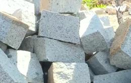 Bình Thuận truy quét khai thác đá xây dựng trái phép
