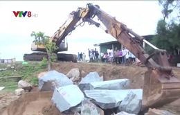 Phú Yên khắc phục khẩn cấp tình trạng sạt lở cửa biển Đà Diễn