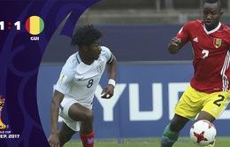Kết quả FIFA U20 thế giới 2017: U20 Anh chia điểm trước U20 Guinea