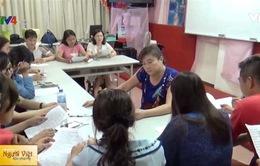 Đào tạo kỹ năng sân khấu cho cô dâu Việt tại Đài Loan (Trung Quốc)