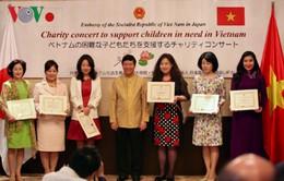 Hòa nhạc từ thiện vì trẻ em khó khăn Việt Nam