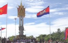 Khánh thành Đài Hữu nghị Việt Nam - Campuchia ở Battambang