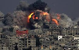 Israel không kích các mục tiêu Hamas ở dải Gaza