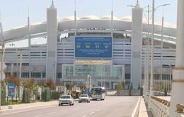 Thành phố Ashgabat trước giờ khai mạc Đại hội thể thao trong nhà và võ thuật châu Á 2017