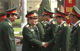Đại tướng Ngô Xuân Lịch kiểm tra công tác sẵn sàng chiến đấu của quân đội