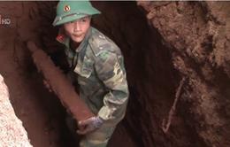 Đăk Lăk xử lý 2 hố bom trong khu dân cư