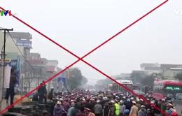 Sẽ xử lý nghiêm đối tượng kích động gây rối tại Nghệ An và Hà Tĩnh