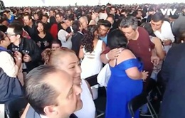 Gần 7.000 người tham dự đám cưới tập thể lớn kỷ lục tại Mexico City