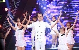 Đàm Vĩnh Hưng hóa bạch mã hoàng tử trong minishow Âm nhạc và Bước nhảy
