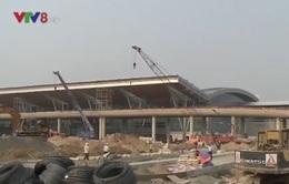 Bí thư Thành ủy Đà Nẵng kiểm tra tiến độ thi công cảng hàng không quốc tế
