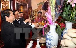 Hơn 1 vạn người dâng hương tại Khu di tích Đền Hùng ngày đầu năm mới