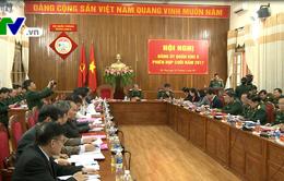 Khai mạc Hội nghị Đảng ủy Quân khu 5