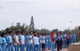 Đoàn Đạp xe xuyên Việt dâng hương tri ân các anh hùng liệt sỹ tại Phú Yên