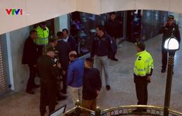 Colombia bắt giữ 8 nghi can vụ đánh bom trung tâm thương mại
