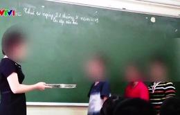 Giáo viên trường Tiểu học Nguyễn Tri Phương đã từng đánh học sinh