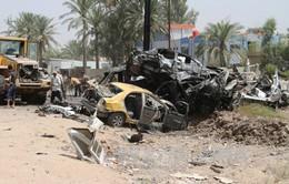 Đánh bom liều chết tại Iraq, 34 người thương vong