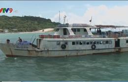 Kiên Giang: Tàu chở hàng ra đảo Lại Sơn hoạt động trở lại