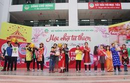 Hội chợ xuân ấm áp tình người của trường Ngôi Sao Hà Nội
