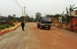 Phong trào hiến đất làm đường giao thông ở Nam Định