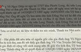 Mẹ Việt Nam anh hùng trước nguy cơ mất hàng nghìn m2 đất