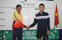Hoàng Thiên lĩnh ấn tiên phong cho ĐT Việt Nam tại Davis Cup