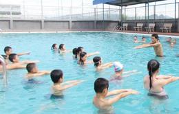 Mở 70 lớp dạy bơi cho trẻ em tại Đồng Tháp