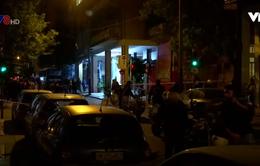 Trụ sở Đảng Xã hội Hy Lạp bị 2 tay súng tấn công
