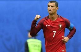 Ronaldo chỉ còn kém 1 người về số bàn thắng cho ĐTQG ở châu Âu