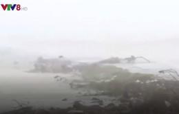 Nguy cơ vỡ đê biển ở Hà Tĩnh