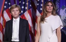 Đệ nhất Phu nhân Mỹ cùng con trai chính thức chuyển về Nhà Trắng