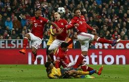 Lượt đi vòng 1/8 Champions League: Thắng đậm Arsenal, Bayern đặt 1 chân vào tứ kết