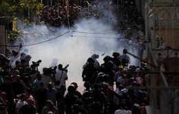 Đụng độ tại đền Al-Aqsa, ít nhất 113 người Palestine bị thương