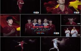 Xuân Trường, Công Phượng, Văn Thanh xuất hiện ấn tượng trong VIDEO VTV đồng hành cùng ĐT U22 Việt Nam tại SEA Games 29