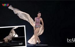 Vietnam's Next Top Model 2017 - All Stars: Tạo dáng trên bàn xoay khiến thí sinh ngã sấp mặt