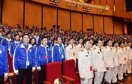 Khai mạc phiên toàn thể Đại hội Đoàn toàn quốc lần thứ XI
