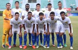 U22 Malaysia 2-1 U22 Brunei: Chiến thắng nhọc nhằn!