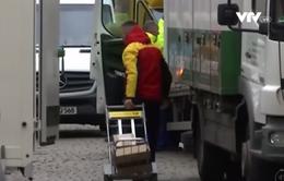 Đức truy tìm thủ phạm đe dọa tống tiền công ty DHL