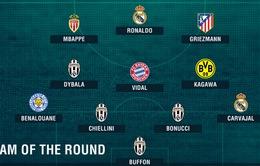 """ĐHTB tứ kết lượt đi Champions League: Ấn tượng """"ngựa vằn"""" Juventus!"""