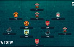 Mane & Martial tỏa sáng trong đội hình xuất sắc nhất vòng 25 Premier League