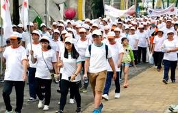 TP.HCM: Hàng nghìn người đi bộ gây quỹ vì nạn nhân da cam