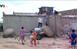Vùng xung yếu tại Ninh Thuận ứng phó bão số 12