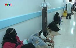 Dịch tả bùng phát ở Yemen