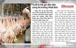Vui, buồn chuyện kiếm visa cho nông sản Việt